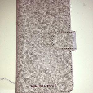 Michael Kors IPhone X Folio phone case
